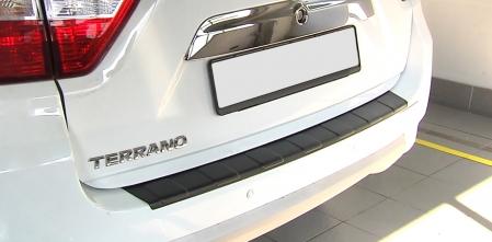 Накладка на задний бампер Nissan Terrano 2014